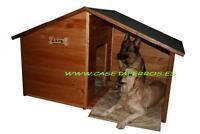 Casetas de madera para Perros/Porche - Colores para la Madera y Tejado a elegir