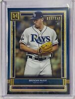 BRENDAN McKAY 2020 ROOKIE TOPPS MUSEUM COLLECTION CARD #83 TAMPA BAY RAYS #d/150