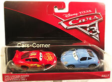 Disney Pixar Cars 3 Evolution Lightning McQueen & Sally - Radiator Springs OVP
