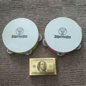 Jagermeister Tambourines Set Of 2