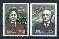 Italy 2017 MNH Giuseppe di Vittorio Valletta Fiat 2v S/A Set Politicians Stamps