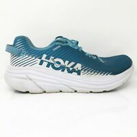 Hoka One One Mens Rincon 2 1110514 BMWH Blue Moon White Running Shoes Size 10