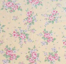 POTTERY BARN KIDS Linen-Blend Duvet Cover Twin Yellow Floral Pink Blue
