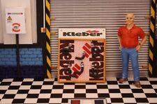 porte durite KLEBER   1/18 atelier garage 6.5 x 7.5 cm non no diorama