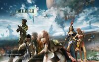 POSTER FINAL FANTASY 13 XIII LIGHTING SNOW VERSUS #2