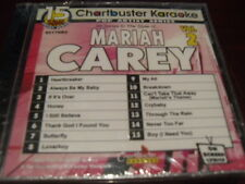 CHARTBUSTER KARAOKE DISC 90178R2 MARIAH CAREY VOL 2 CD+G POP SEALED 15 TRACKS