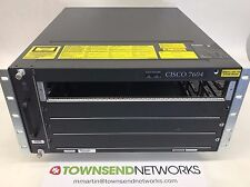 CISCO7604 7600 Series 4-slot Router w/ FAN-MOD-4HS ***Tested/Warranty***
