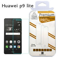 Triple Pack Huawei P9 Lite Genuine Gorilla Screen Protector Tempered Glass Film