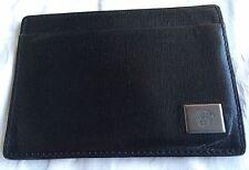 Versace Porta Carte di Credito Pelle Nera Bello Credit Card Holder Leather