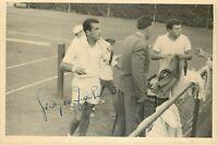 Tennis - Autografo del giocatore Giorgio Facchini su fotografia