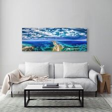 FRAMED 130x47cm Large Australian Canvas Prints |Fort Nepean road, VIC HOME DECOR