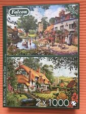 A Beudiful Summer's Day Jigsaw Puzzles 2 x 1000 pieces