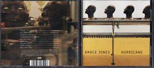 GRACE JONES Hurricane 2009 CD PIAS WALL OF SOUND mint & freepostage worldwide