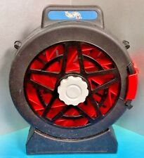 Hot Wheels Car Carrying Case Tire w/ Treads 1998 ~ Holds 16 Cars Rare Black Red