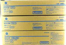 Genuine OEM Konica DV313C DV313M DV313Y Developer Unit Bizhub C258/C308/C368 New