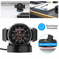 Wireless Charging Dock Cradle Charger Station For Samsung Galaxy Watch 42mm 46mm