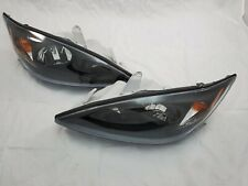 For 2002 2003 2004 Toyota Camry Direct Replacement Black Housing Headlight Set