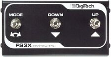 More details for digitech fs3x 3-button footswitch