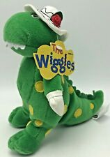 "The Wiggles Dorothy Dinosaur Plush Beanie Stuffed Animal 7"" 2003 Spin Master"