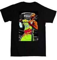 Russell Maxwell Clothing Kobe Bryant The Goat Shirt Black Los Angeles Lakers Nba
