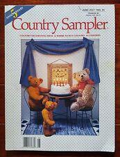 Country Sampler Magazine June / July 1989