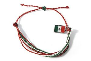 handmade friendship bracelets mexican flag unisex