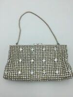 Vintage WALBORG PURSE Sparkling RHINESTONE Evening Bag Handbag W Germany
