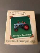 Hallmark Miniature Collector's Series 2003 Antique Tractor Ornament