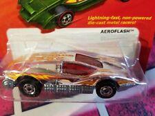2011 Hot Wheel One Aeroflash Lightning Die Cast Metal Racer Miniature Toy Silver