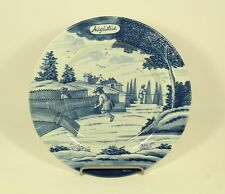 "Metropolitan Museum of Art ""JAUGUST"" Delft Holland Months of Year 9'' Plate"