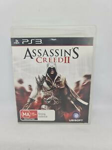 ASSASSIN'S CREED II Playstation 3 PS3 PAL Game Free Tracked Shipping