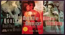 3 Sizzling SHARIE KOHLER Paranormal WEREWOLF Romance Books MOON CHASERS Series