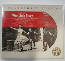24kt Gold CD West Side Story Mastersound Collectors Ed SBM 24k Disc 074646441923