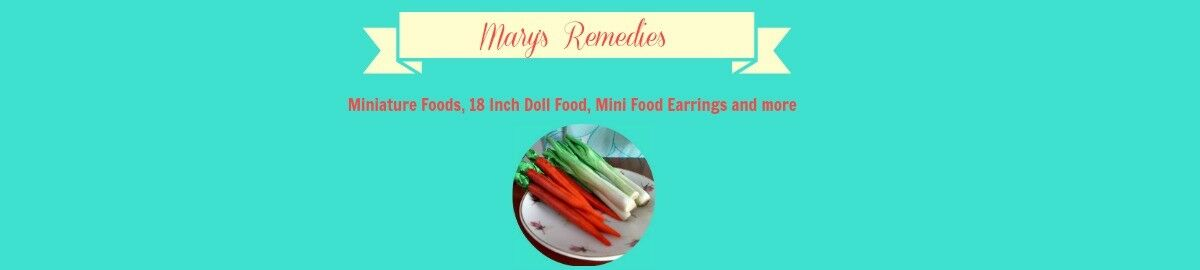 Marys Remedies Miniature Food