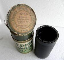 4-Min Wax-Cylinder-Phonograph-Record-Edison-Amberol-JOHANN-STRAUSS-Deutscher Aar