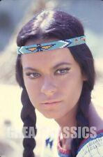 MARIE VERSINI WINNETOU 1966 BEAUTIFUL KODACHROME CAMERA TRANSPARENCY PETER BASCH