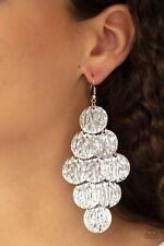 Paparazzi jewelry earring set (NEW) Uptown Edge Silver