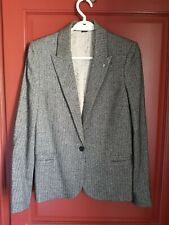 Sublime Blazer Victor Silver T36 Zadig & Voltaire gorgeous Blazer Size S New!