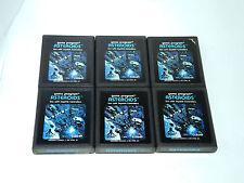 ASTEROIDS * 6  wholesale bundle 6 games atari 2600 game cartridge lot set