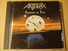 CD / ANTHRAX - PERSISTENCE OF TIME