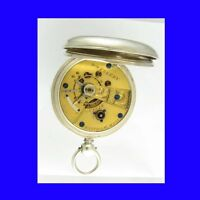 Mint Silver Waltham William Ellery 15 Jewelled  Welsh KW Watch 1876