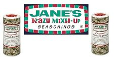 Jane's Krazy Mixed-Up Seasonings TWO 4oz Bottles