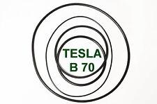 SET RIEMEN TESLA B 70 TONBANDMASCHINE EXTRA STRONG FABRICKFRISCH NEU B70 B-70