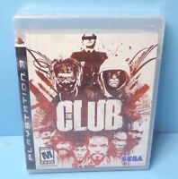 The Club (Sony PlayStation 3, 2008) BRAND NEW FACTORY SEALED