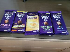 Cadbury DairyMilk Chocolate Australian Import UK special edition x5