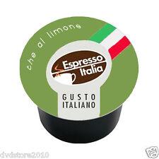 140 CAPSULE CAFFE' GIMOKA THE AL LIMONE COMPATIBILI LAVAZZA A MODO MIO CIALDE