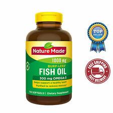 Nature Made Fish Oil Omega-3 1000 mg, 150 Liquid Softgels