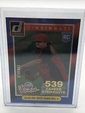 2014 Donruss The Rookies Stat Line Career #38 David Holmberg Card /400