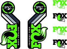 FOX Racing Shox AM Heritage Sticker Decal 2015 Kit Fork / Shock Sets Green