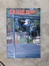 2000, Skate One, Skateboard Products Catalog/Magazine